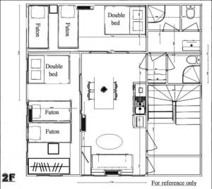 Asakusabashi 2F whole floor 2 bedrooms 2 bathrooms 2 toilets