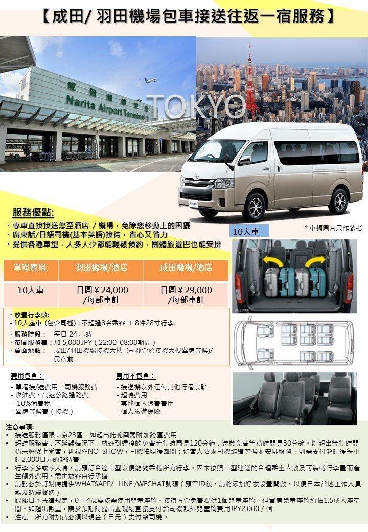 Narita Airport Pickup