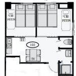 Issyuku Hotel Higashiueno 1F 102